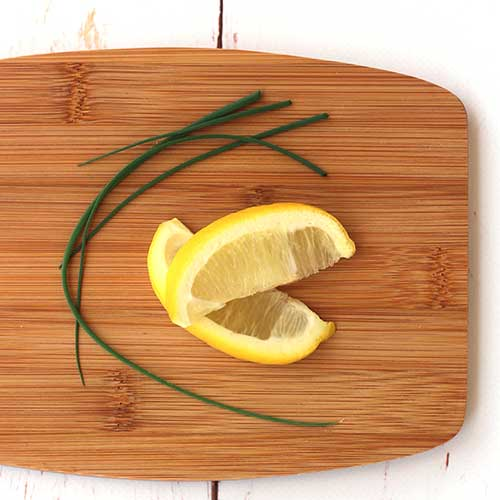 Lemon and chives
