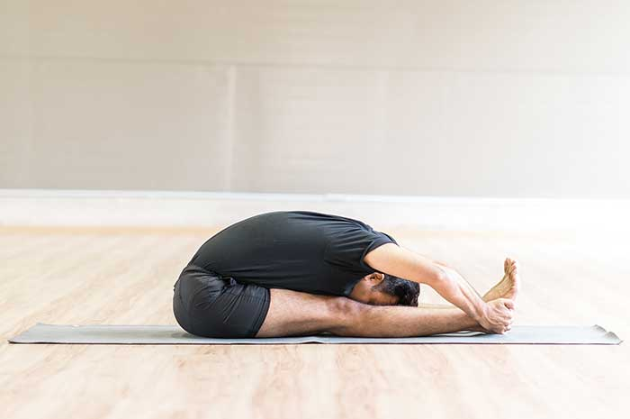 Yoga Pose - forward bend