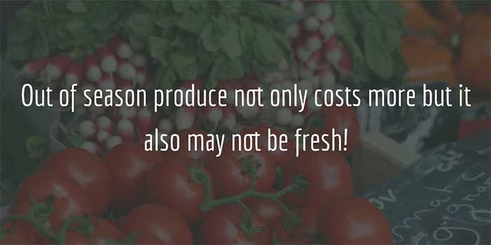 Eating Healthy - Seasonal Product