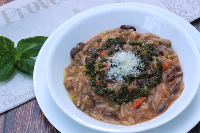 Summer Vegetable Bean Soup (Pistou)