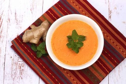 Cold Melon Soup with Ginger
