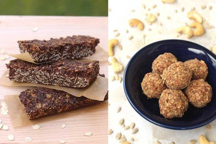 Unprocessed Snacks: Breakfast Bars and Energy Bites