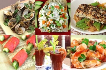 Feast of the Seven Fishes Menu Options