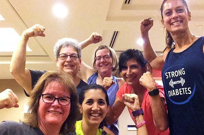 Fit with Diabetes gang at DiabetesSisters conference