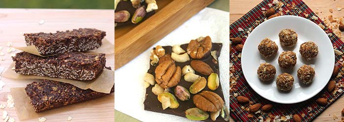 Low-carb snacks - nuts