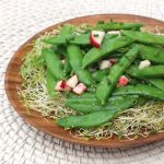 Sugar Snap Pea Salad with Lemon Vinaigrette
