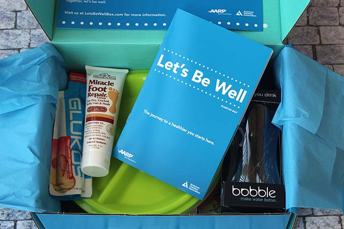 Let's Be Well Diabetes Box