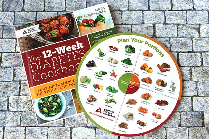 Let's Be Well Diabetes Box - cookbook and meal wheel