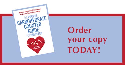Order The Pocket Carbohydrate Counter Guide for Diabetes TODAY
