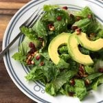 Lemony Romaine & Avocado Salad