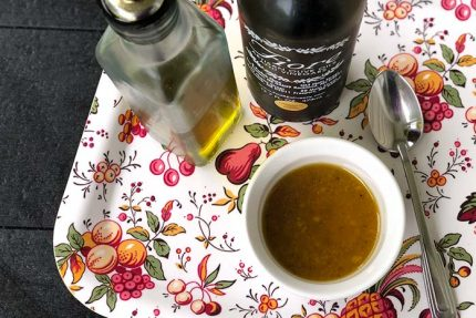Fruity White Balsamic Vinaigrette