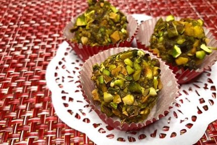 Key Lime Date Balls with Pistachios