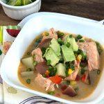 Southwest-Spiced Salmon Chowder