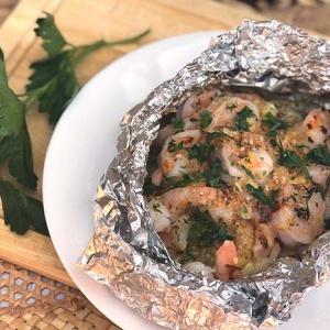 Shrimp Scampi Foil Packets (Oven or Grill)