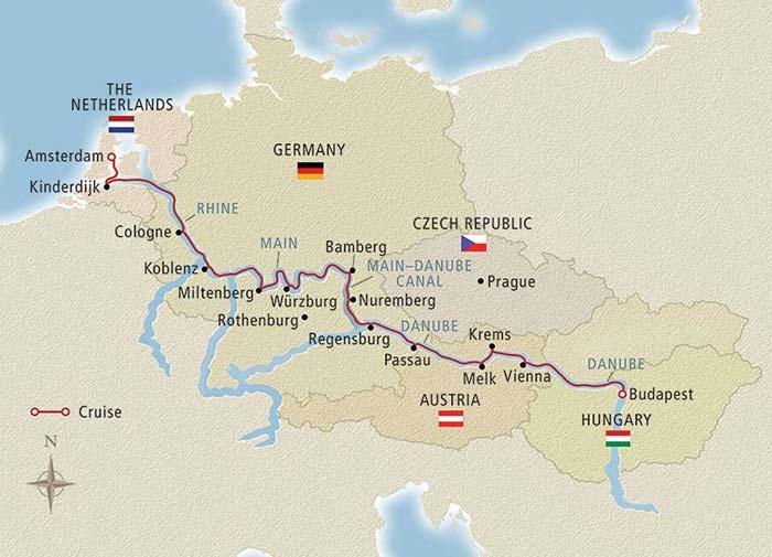 River Cruise - Rhine and Danube
