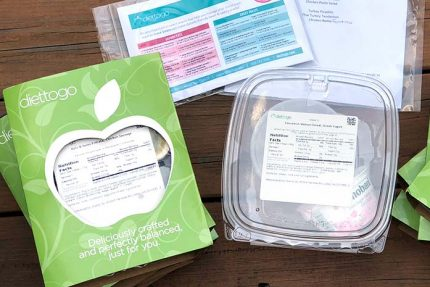 Diet-to-Go box contents