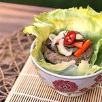 Banh Mi Chicken Burger Lettuce Wrap