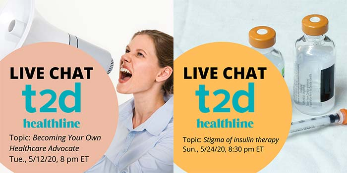 Find Your Tribe - T2D Healthline live chats