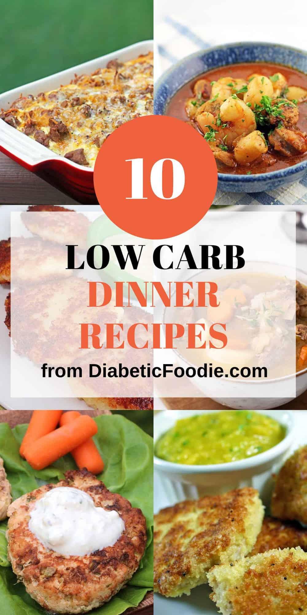 Low-Carb Dinner Recipes for Diabetics